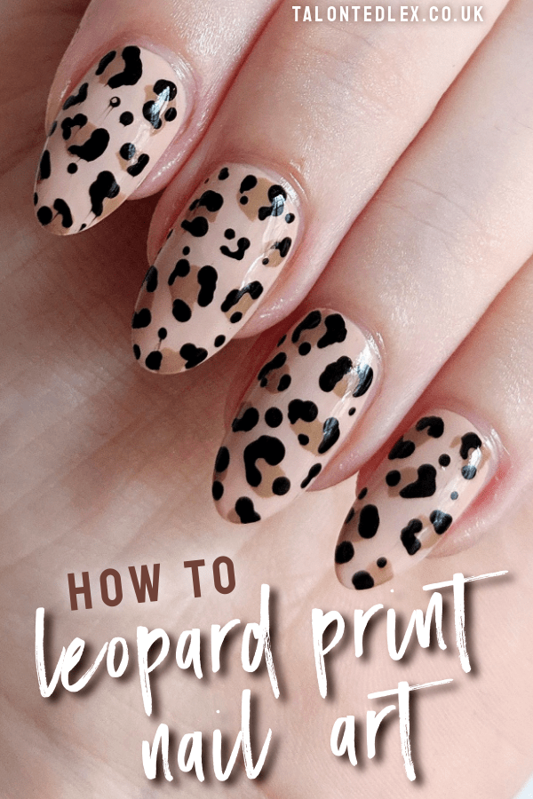 How To Leopard Print Nail Art Tutorial Talonted Lex Nail Art Designs Videos Leopard Print Nails Leopard Nails Tutorial