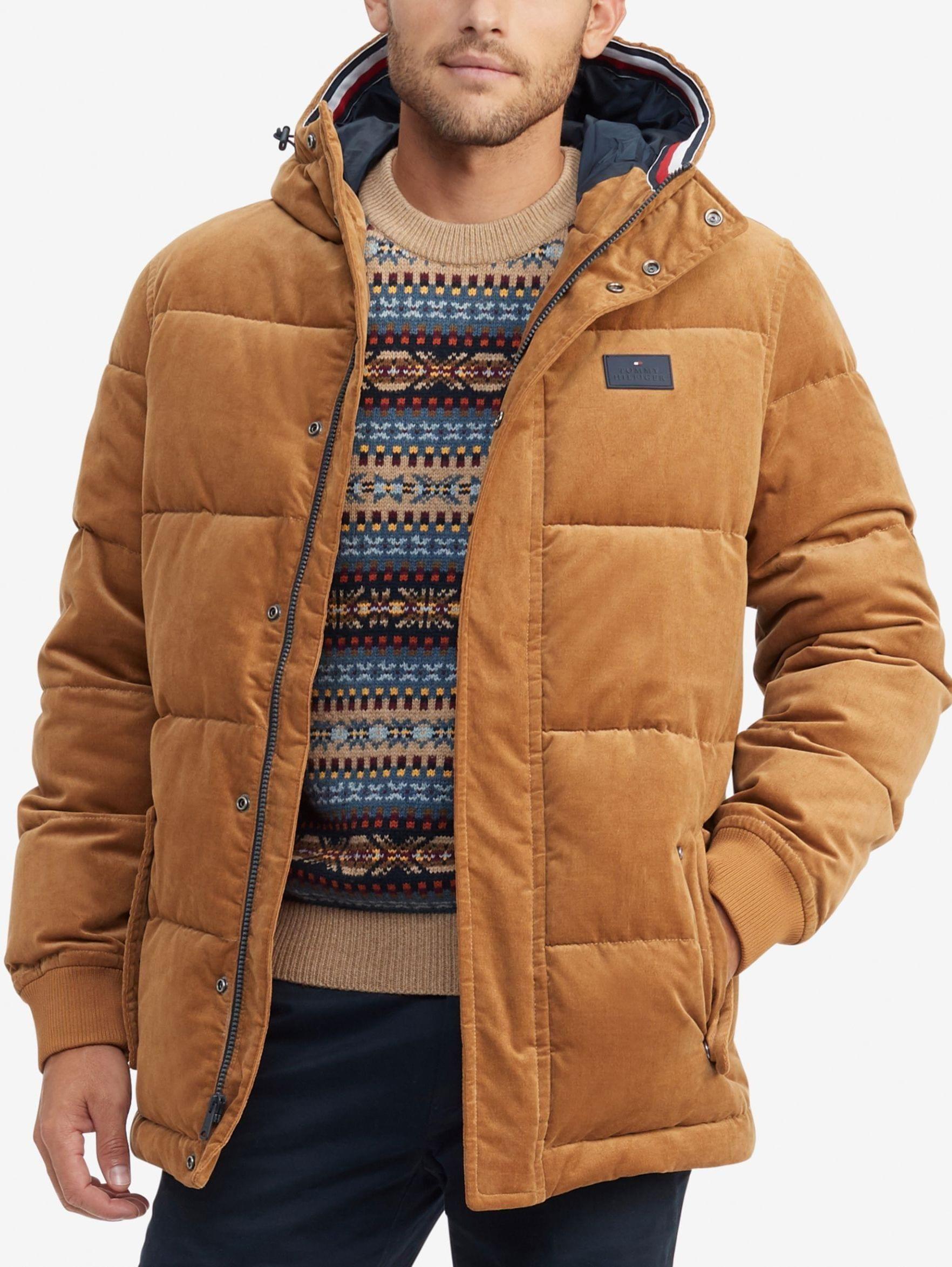 Vance Hooded Corduroy Puffer Jacket 249 Corduroy Puffer Jacket Jackets Puffer Jackets [ 2346 x 1764 Pixel ]