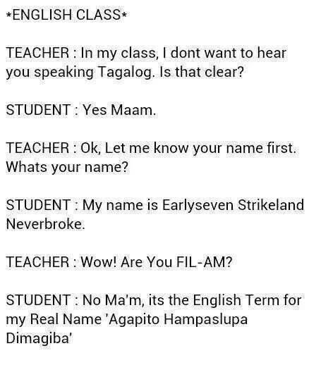 English Lesson Filipino Funny Pinoy Jokes Tagalog Tagalog Quotes