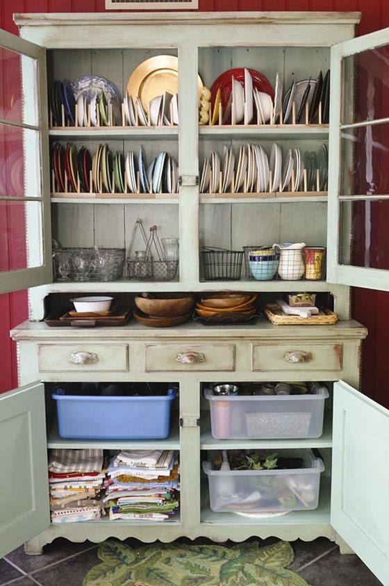 refurbishedkitchens  Repurposed refurbished hutch