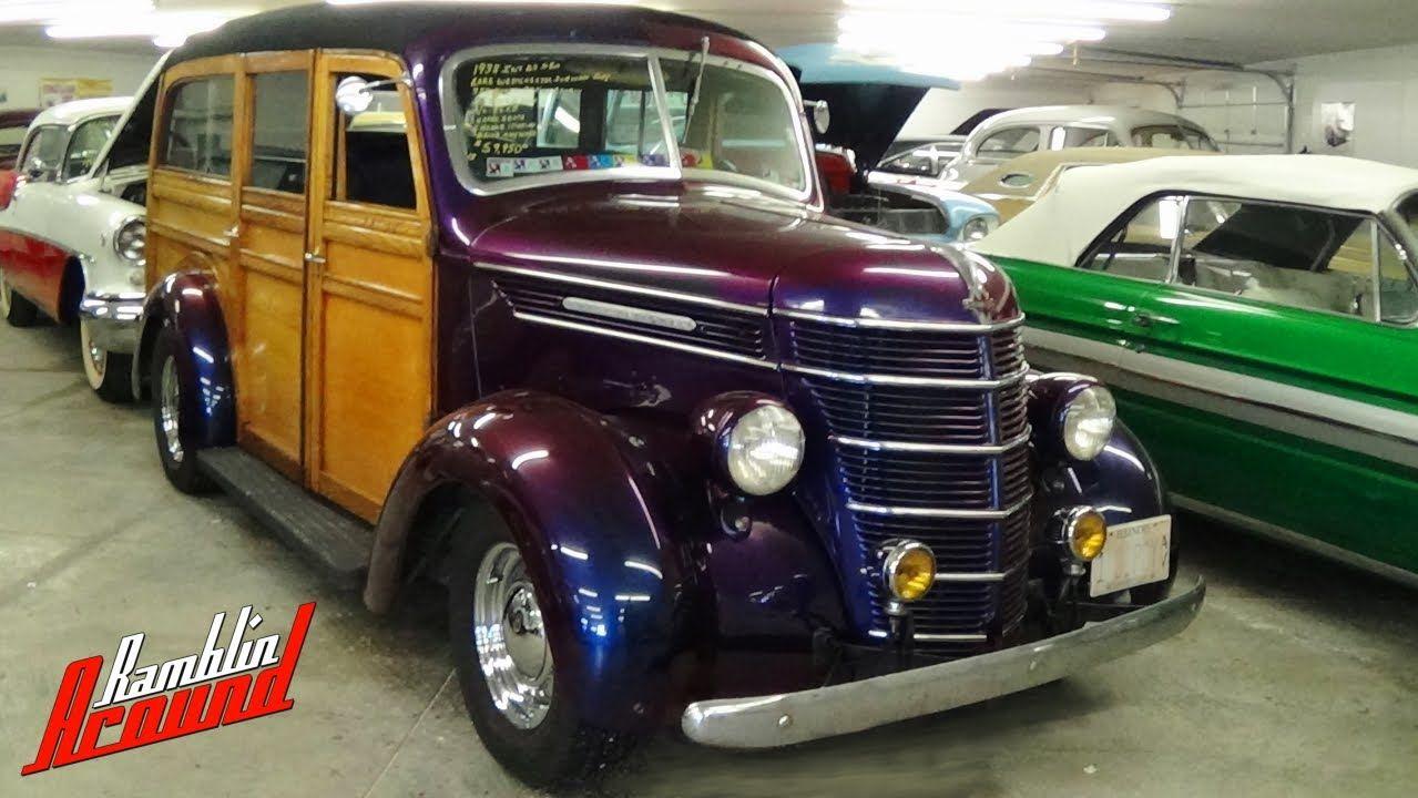 1938 international d2 westchester suburban woodie wagon street rod