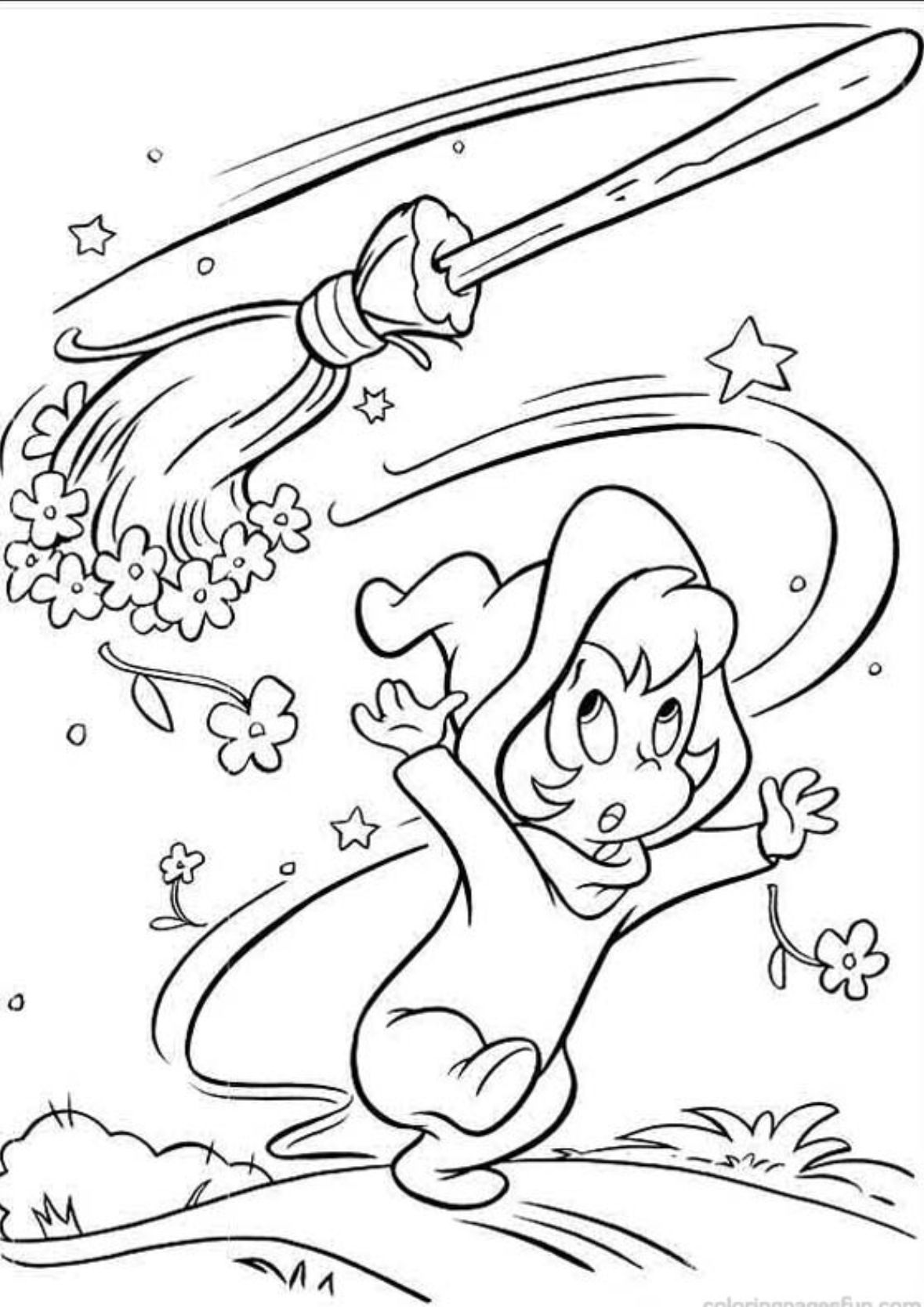 Wendy The Good Little Witch Witch Coloring Pages Halloween