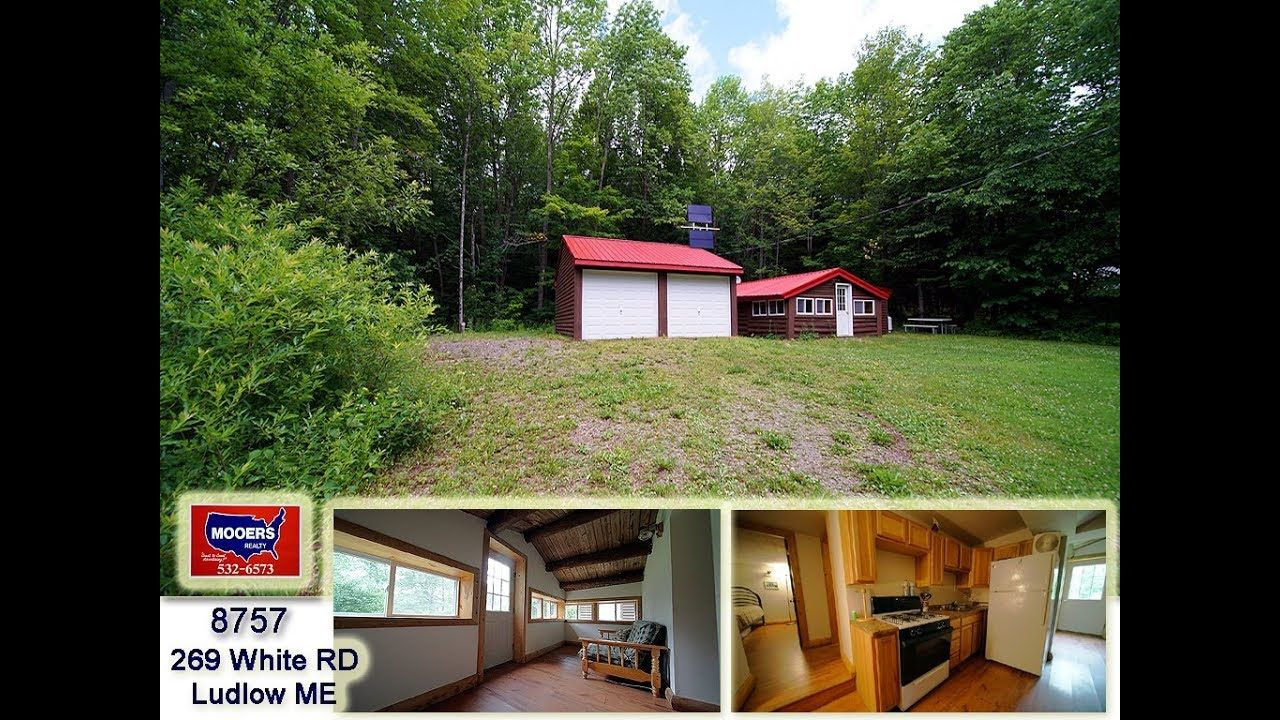 Log Cabin Home In Maine For Sale 269 White RD Ludlow ME