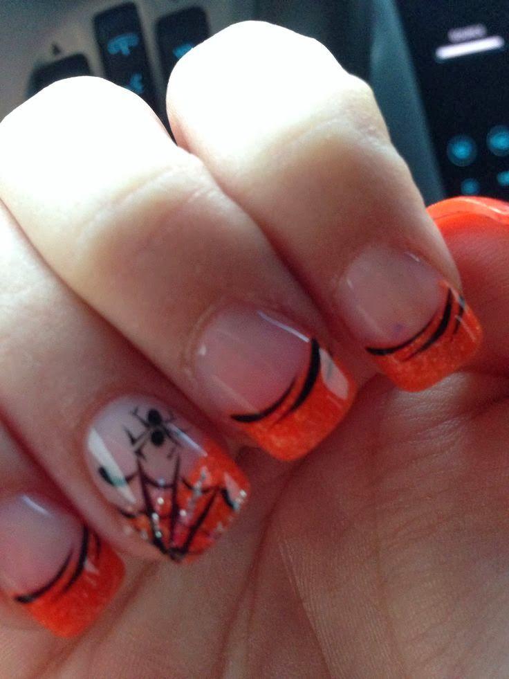 Spooky Halloween Nail Art Designs Nail Art Pinterest