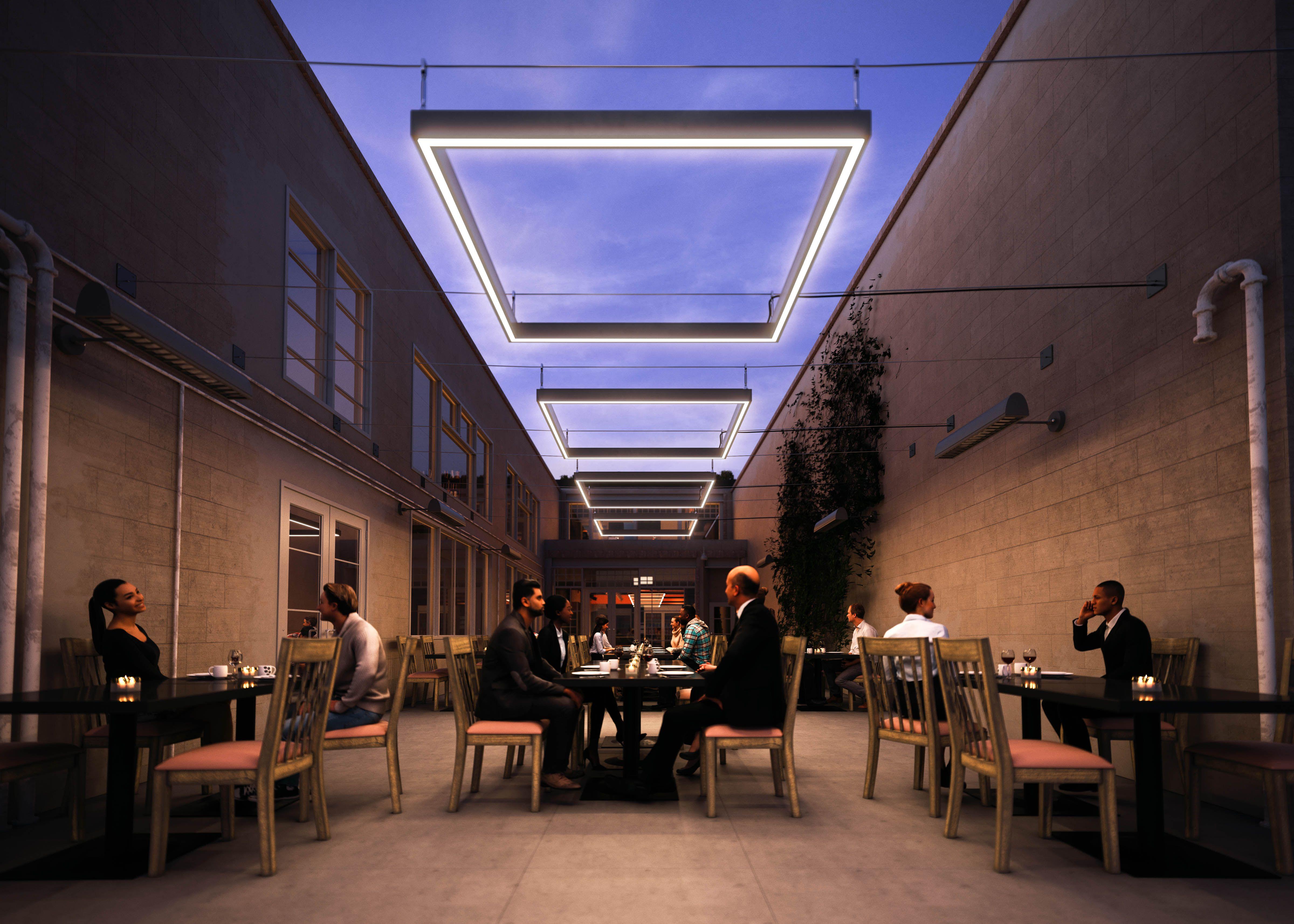 Outdoor lighting aura korba residence refs