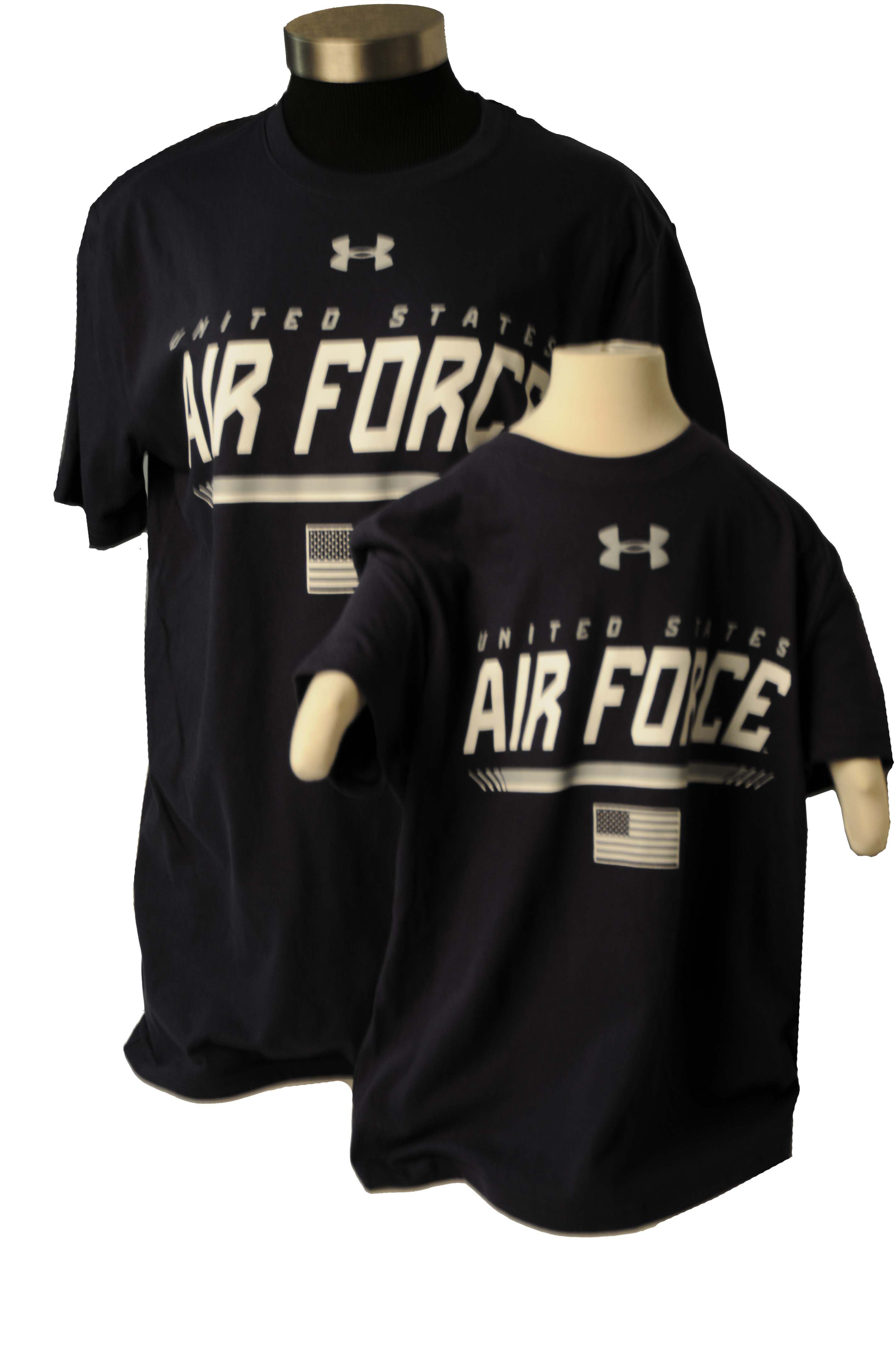 UNDER ARMOUR AIR FORCE KIDS Under Armour shirt featuring
