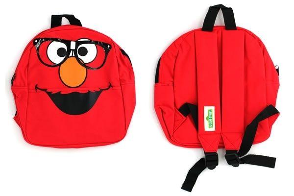 7c4aa2782b50 Elmo with Glasses - Sesame Street Junior Backpack  17