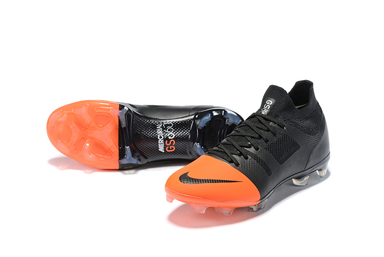 hot sales 29ef4 f611a Nike Mercurial Greenspeed 360 FG Boots -Black Orange