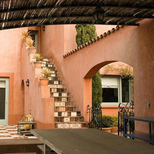 Spanish Style Homes With Metal Roof #Spanishstylehomes