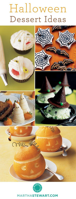 creative halloween dessert ideas httpwwwmarthastewartcom - Martha Stewart Halloween Cakes