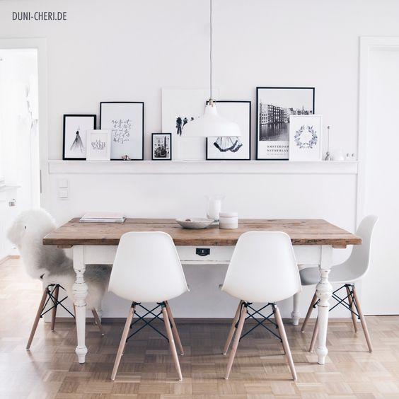 Tisch Skandinavisch alter esstisch holz tisch skandinavisch deko modernes wohnen
