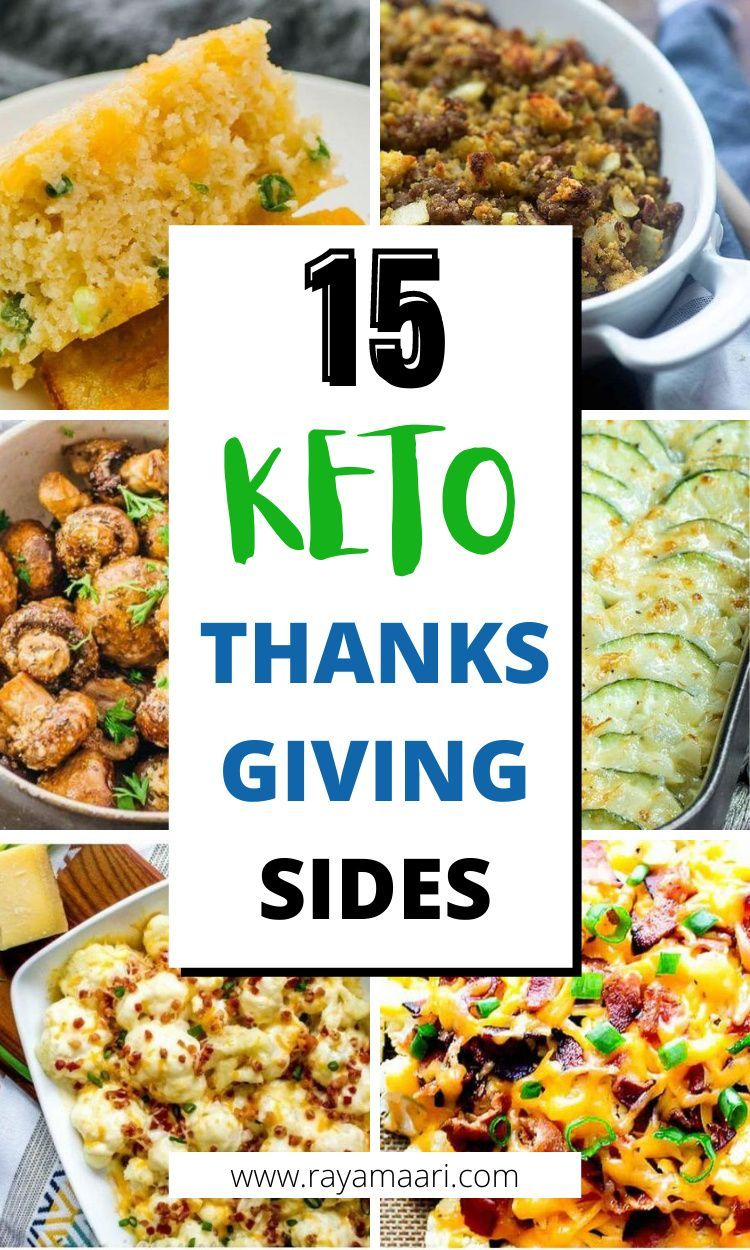 15 Keto Thanksgiving Side Dishes You Will Love