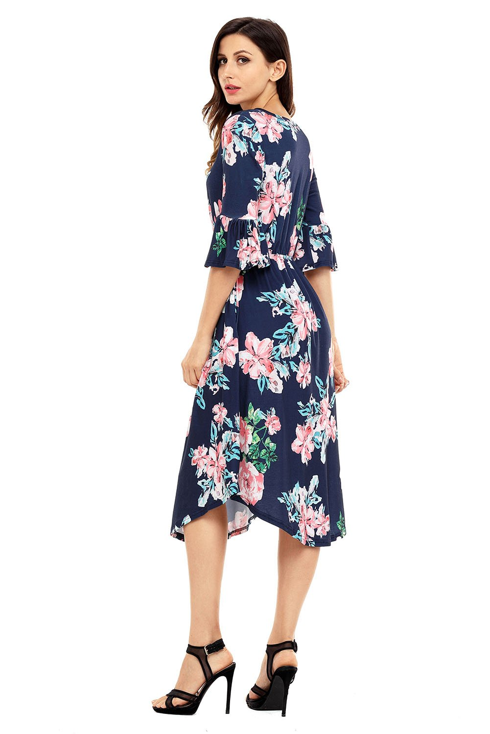 dffe14bc6bc Available in Plus Size Dresses. Available in Plus Size Dresses Flowy Floral  Dress, Floral Dresses With Sleeves, Midi Dresses