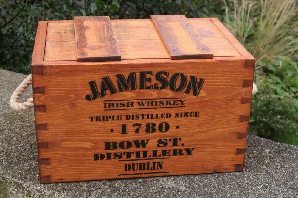 Premium Quality Irish Whiskey Crate on eBay! About 90