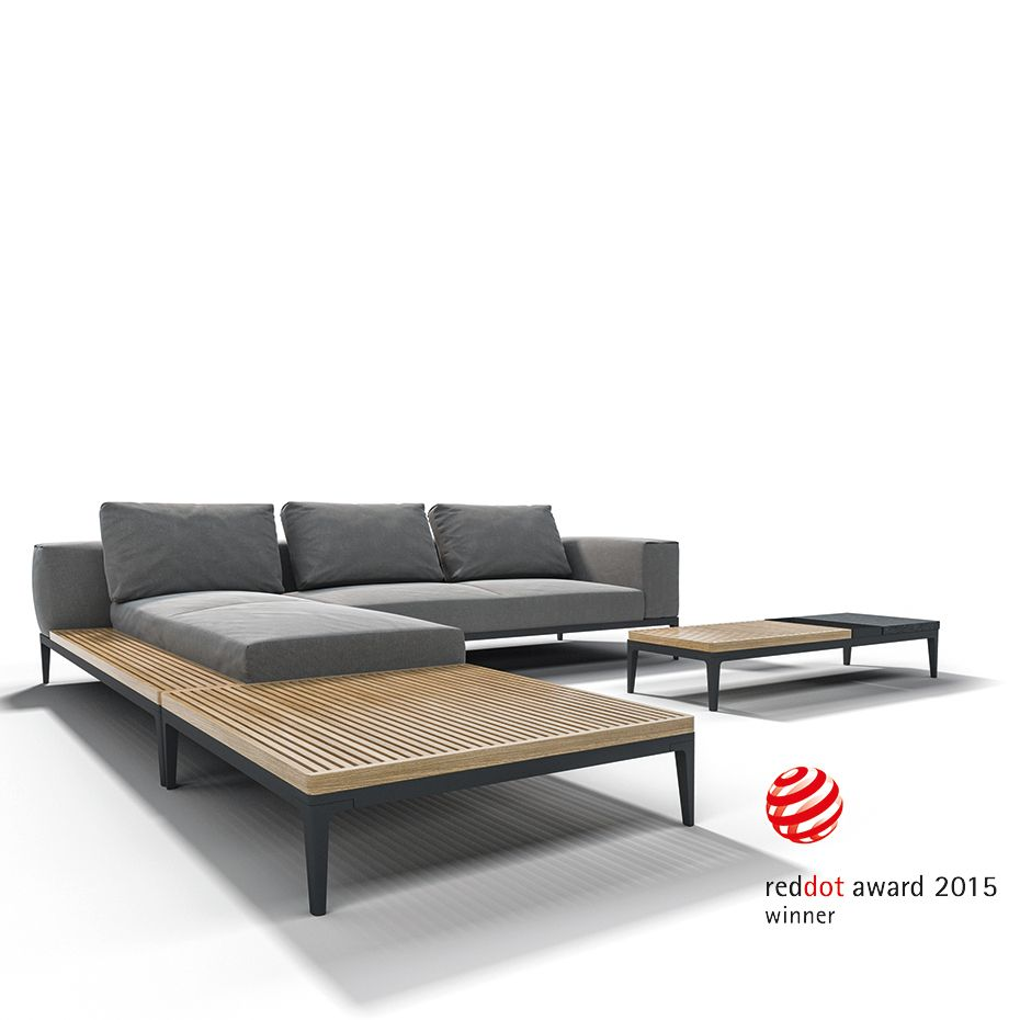 GLOSTER Outdoor Lounge Möbel: GRID - Gewinner des Red Dot Design ...