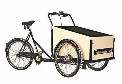If I get a bike, it will be a Christiania bike from Copenhagen!