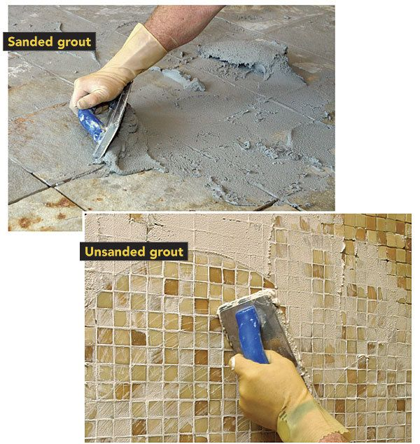 The Difference Between Sanded And Unsanded Grout Bathroom Tile - Best type of caulk for shower