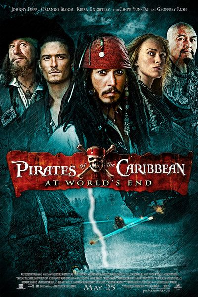 Pirates Of The Caribbean At Worlds End Poster Google Search