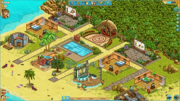My Sunny Resort Is A Free To Play Browser Based Virtual Vacation