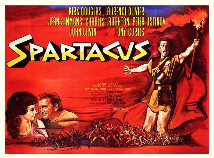 Best Film Posters : Spartacus (1960) (With images) | Spartacus ...