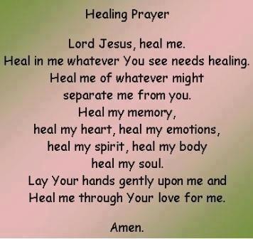 Healing Prayer Prayers For Healing Praying For A Miracle Prayer Quotes