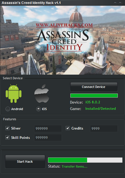 Assassin's com Identity Creed 1 Assassin Creed Identity Hack Assassins Alivehacks V1
