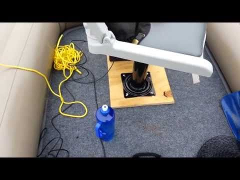 Intex Excursion 4 Floor Mod(on water) - YouTube