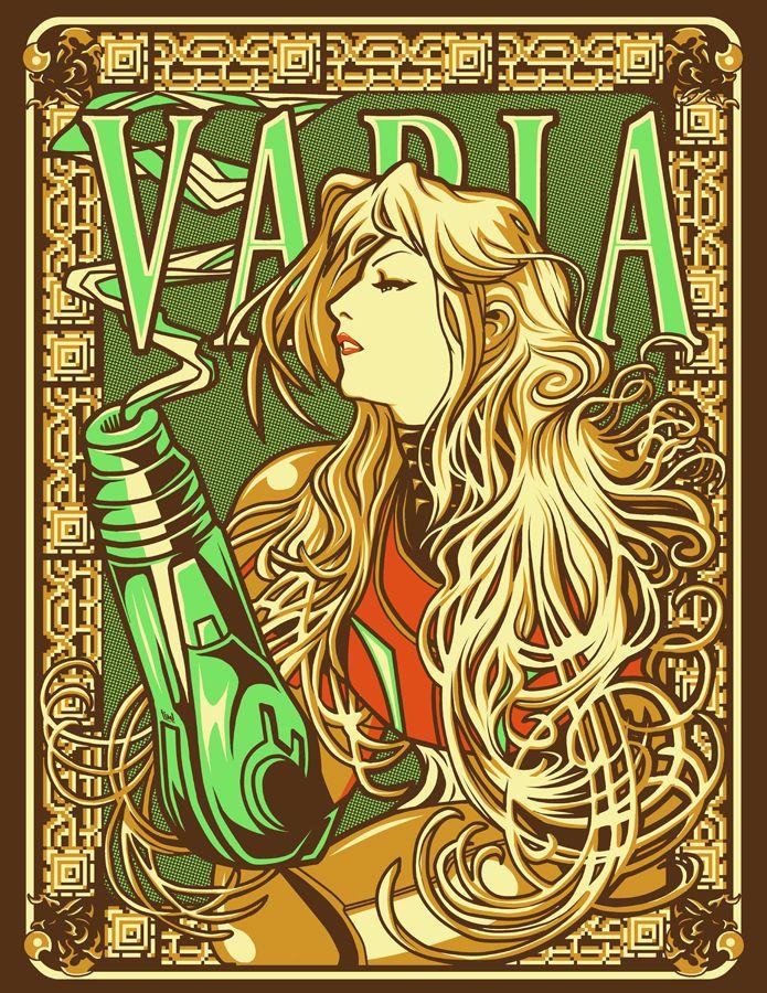 Varia, Inc. by *ninjaink on deviantART