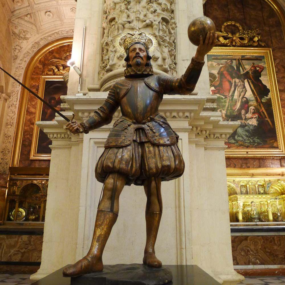 1671 San Fernando Pedro Roldan Y Posible Colaboracion De Luisa