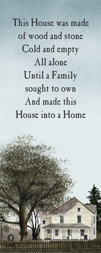 i think this poem says it all my house isn t special or fancy
