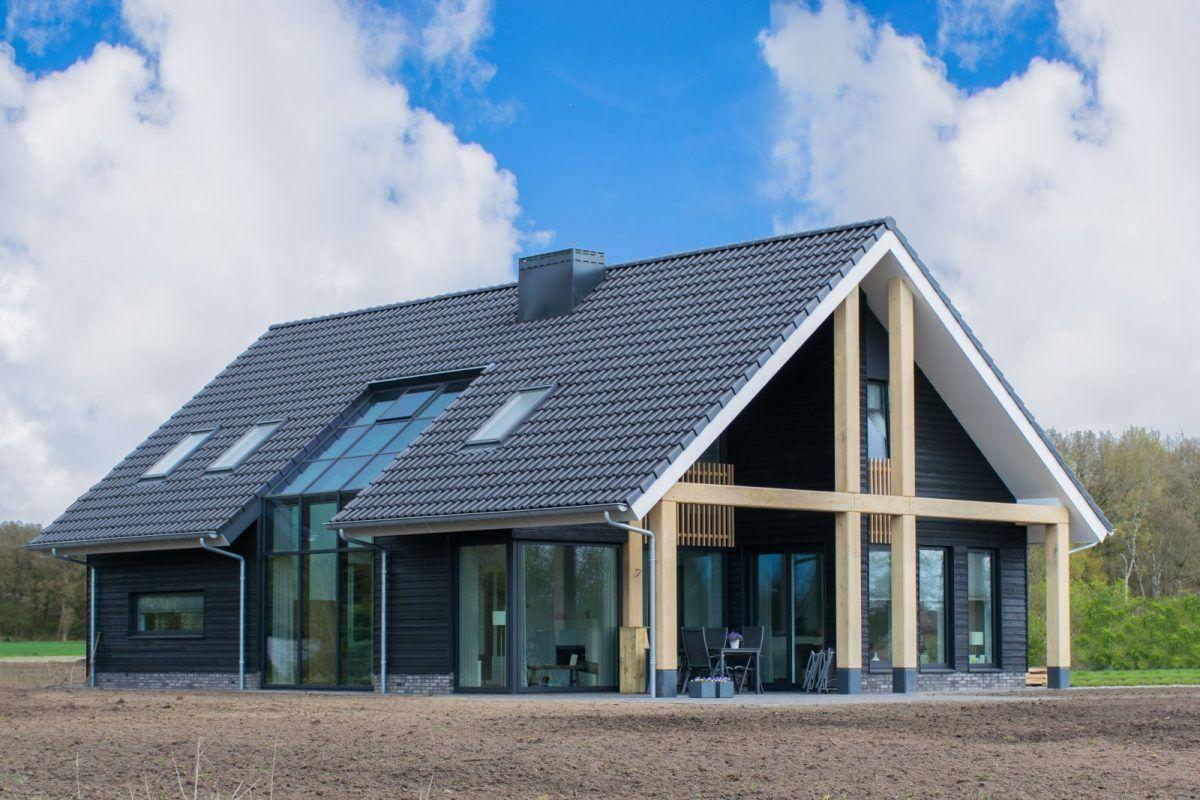 Eindresultaat huis pinterest nieuwbouw huis for Kleine huizen bouwen