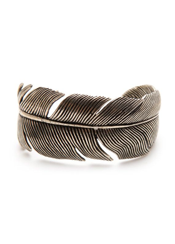 Carpe M Feather Bracelet Bangle Jewelry By Carpemjewellery 90 00 Why Must Things I Like Be So Expensive