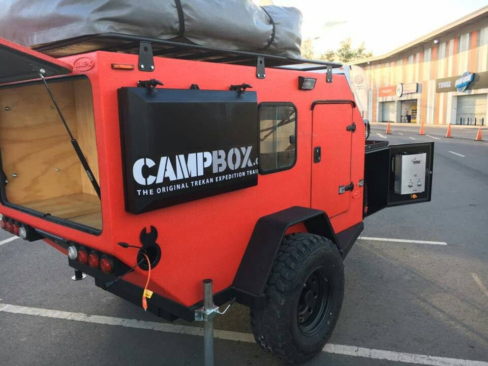 outdoor rugged camper   Utility trailer   Pinterest   Campismo, 4x4 ...