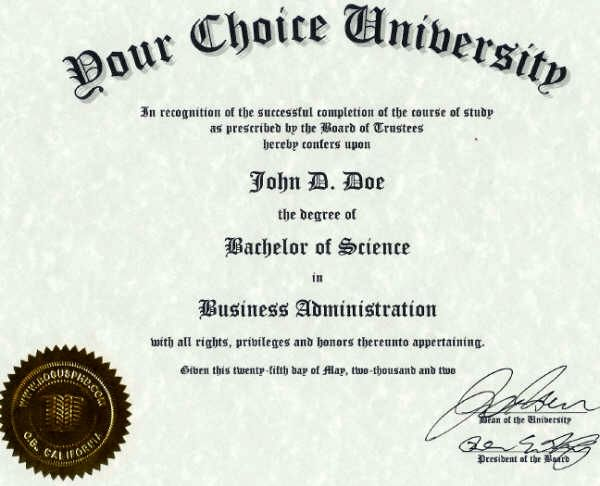 The College Degrees That Get The Most Job Offers Certificate Templates University Diploma Certificate Of Completion Template