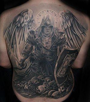 Tatuagem De Anjo Desenhos De Tatuagem De Anjo Tatuagem