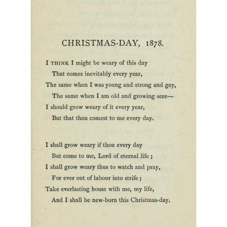 Posterazzi Three Friends A Threefold Cord 1883 Christmas Day 1878 Canvas Art - Three Friends (24 x 36)