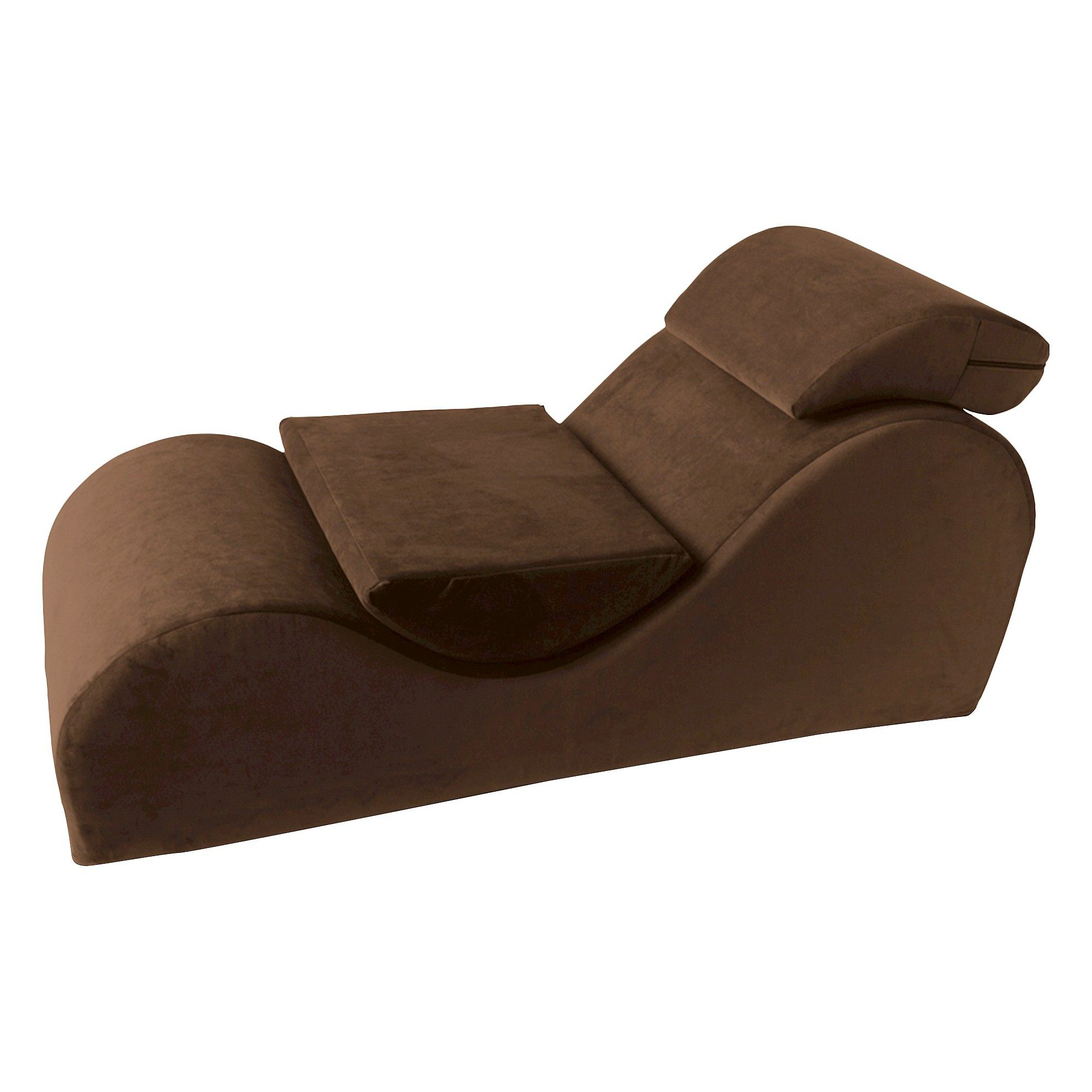 Liberator Esse Velvish Positioning Furniture - Espresso (Brown ...