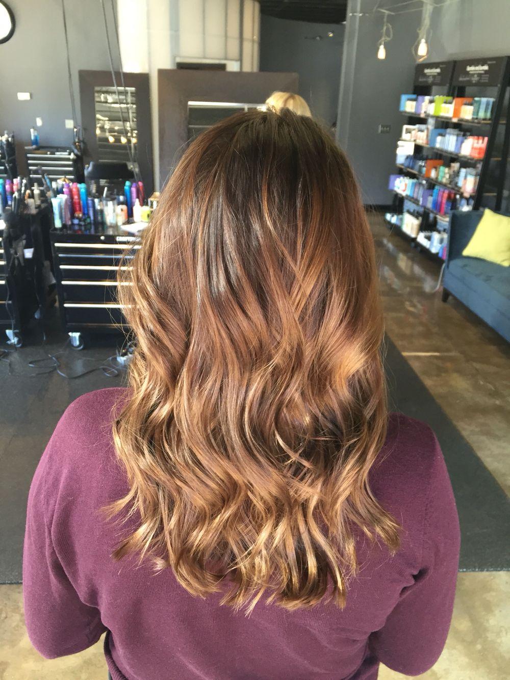 Brown Hair Metropolis Salon Fayetteville Ar