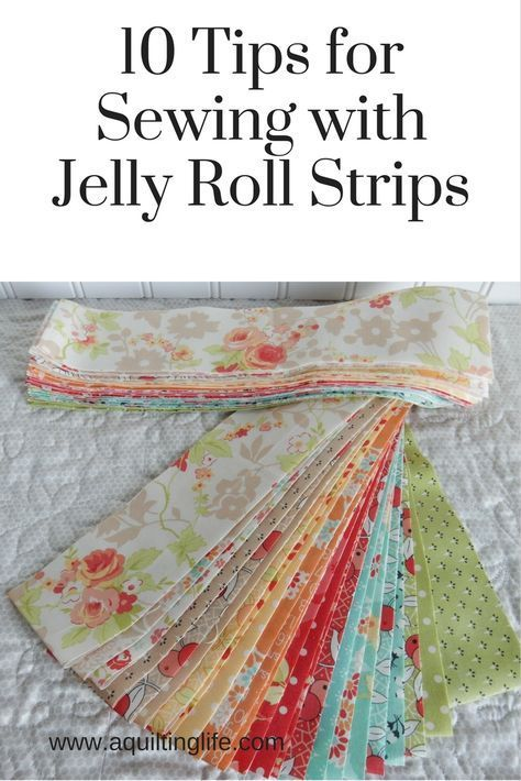 10 ideas for using jelly roll strips in your quilts and quilt ... : jelly roll strip quilt pattern - Adamdwight.com