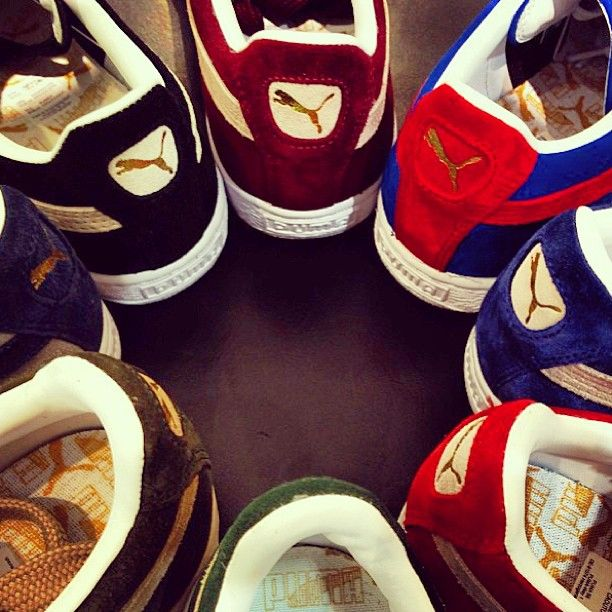 PUMA #suede #classic #style #shoes