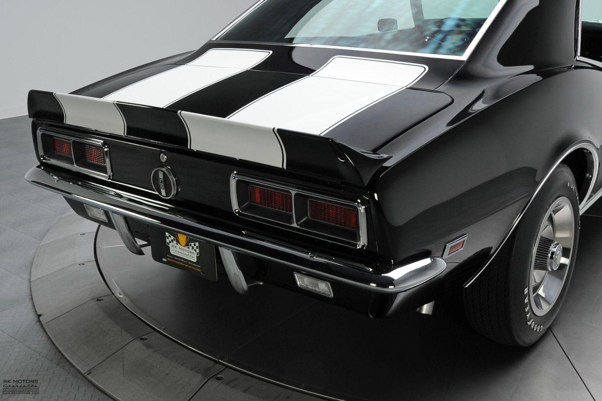 134115 1968 chevrolet camaro rk motors classic cars and