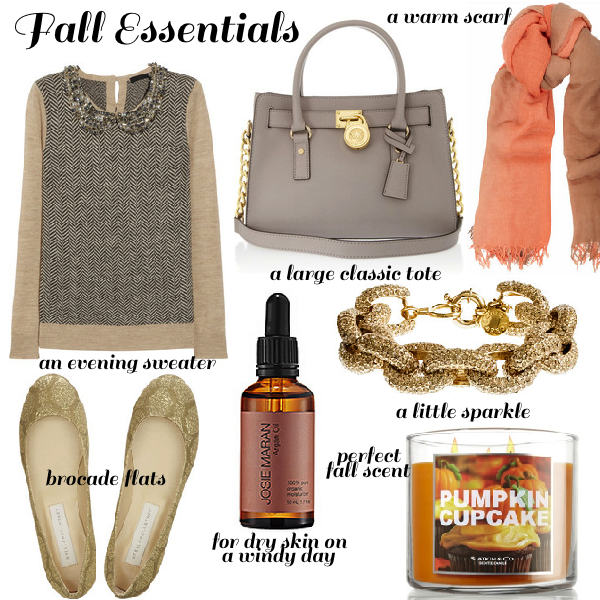 Fall Essentials//What every girl needs @ Mascara & Metallics!