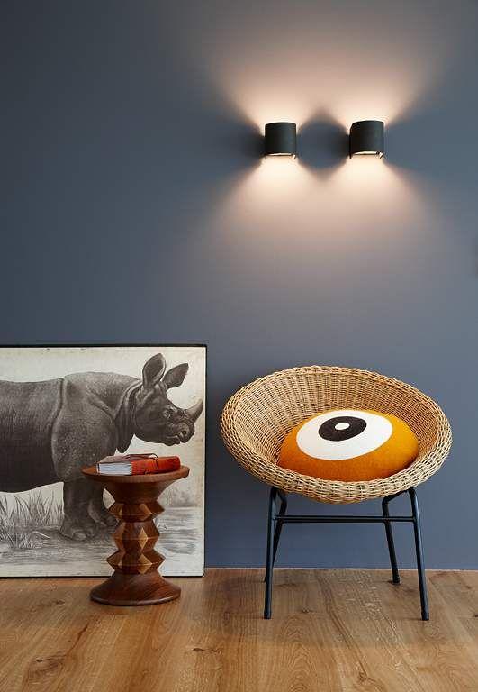 Farbkombis mit SCHÖNER WOHNEN-Farbe - SCHÖNER WOHNEN Room - ideen fur effektvolle schlafzimmer wandgestaltung