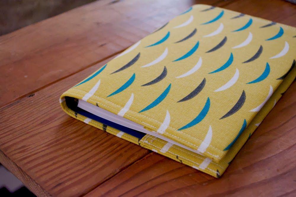Miss Make Tutorial Calendar Cover Sew  Book Cover Pinterest