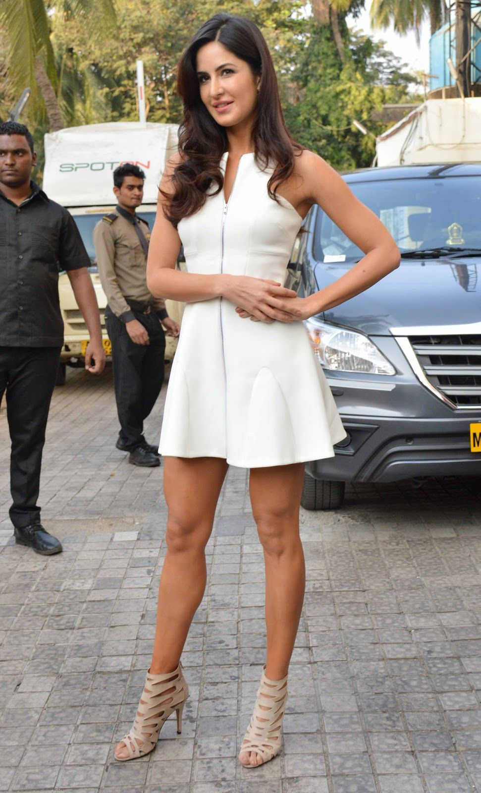 Bollywood Actress Katrina Kaif Photos At Fitoor Trailer -9935