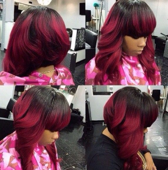 Pin On Bob Weave Hairstyles