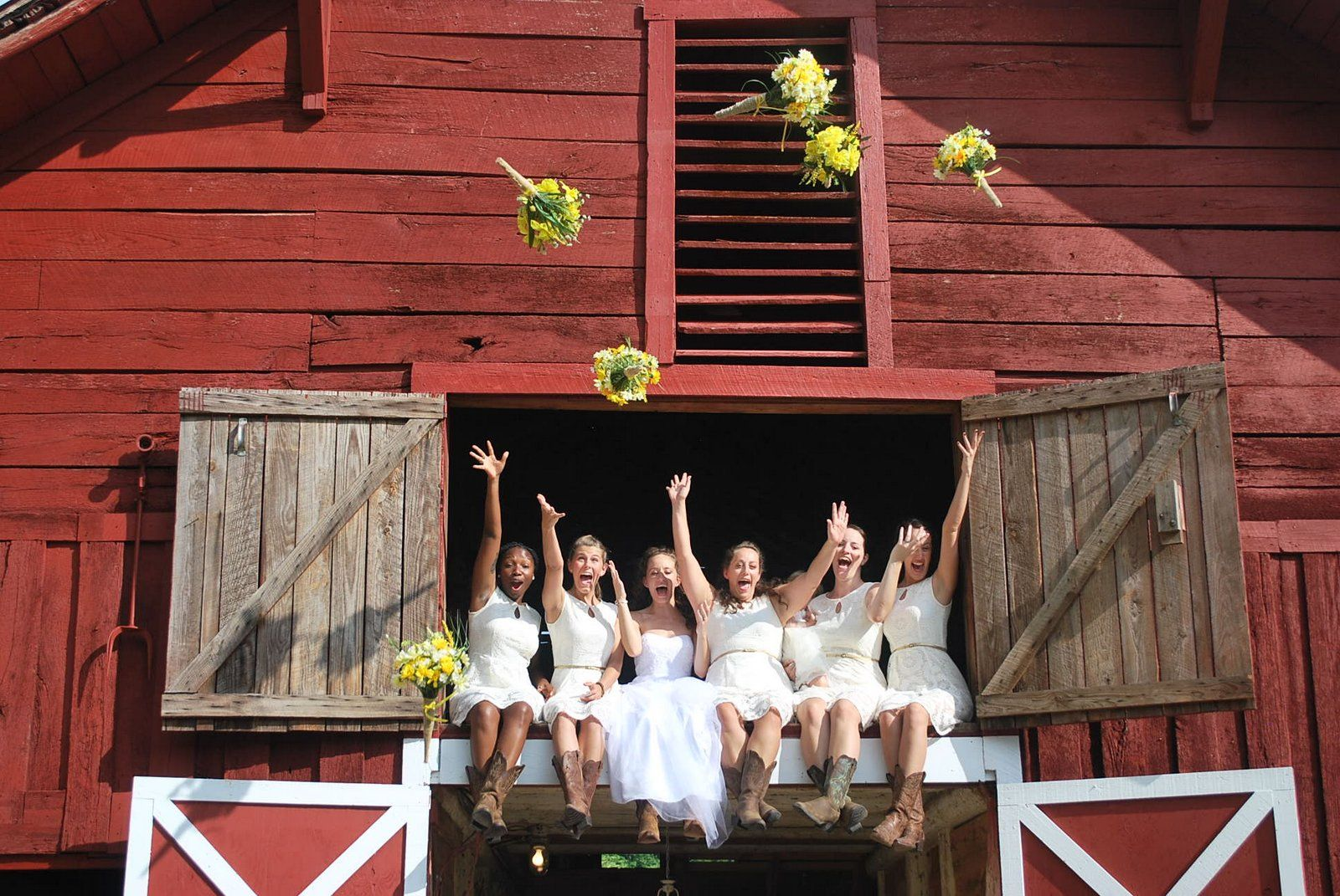 Looking for a Rustic Barn Wedding? We've got that in White ...