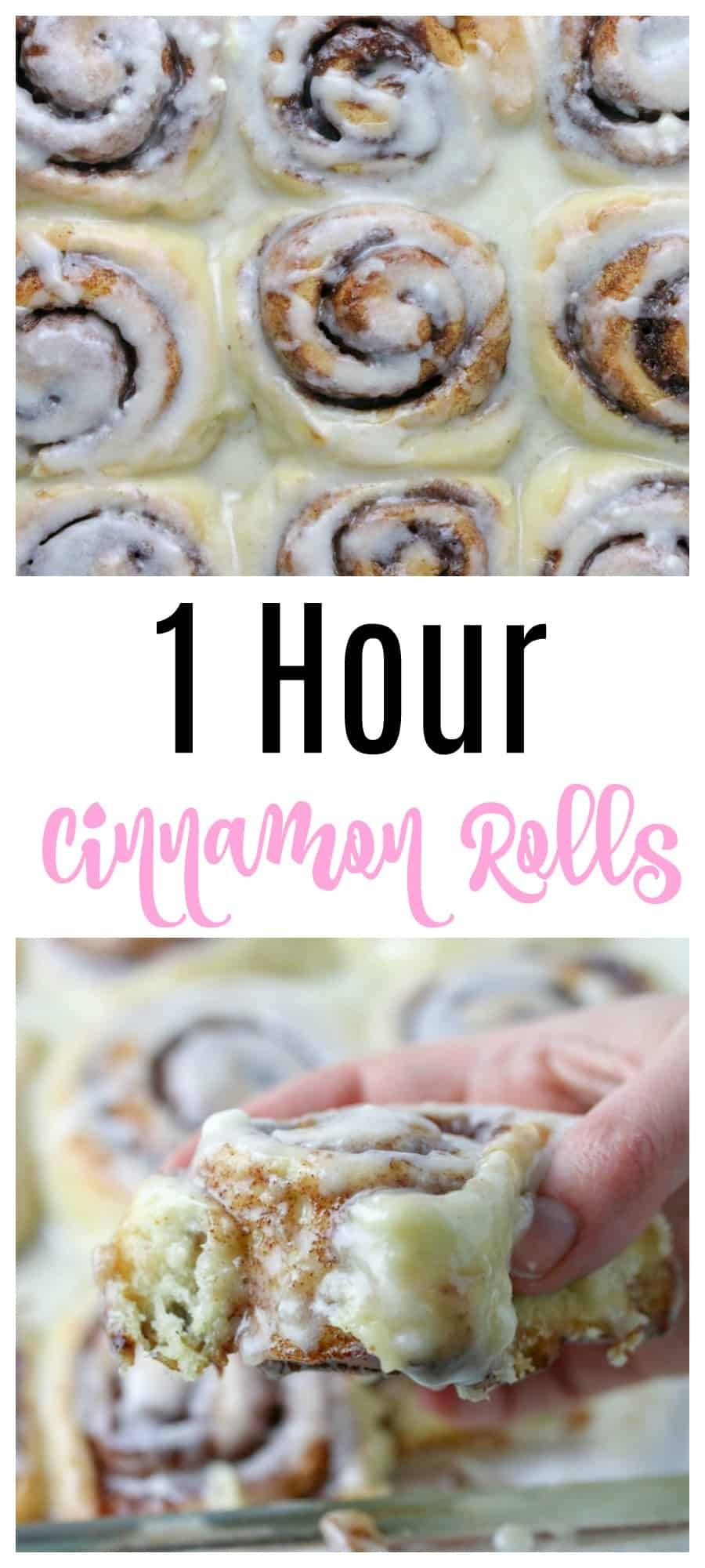 1 Hour Cinnamon Rolls Recipe Cinnamon Rolls Recipe Cinnabon Cinnamon Rolls Cinnamon Rolls Homemade