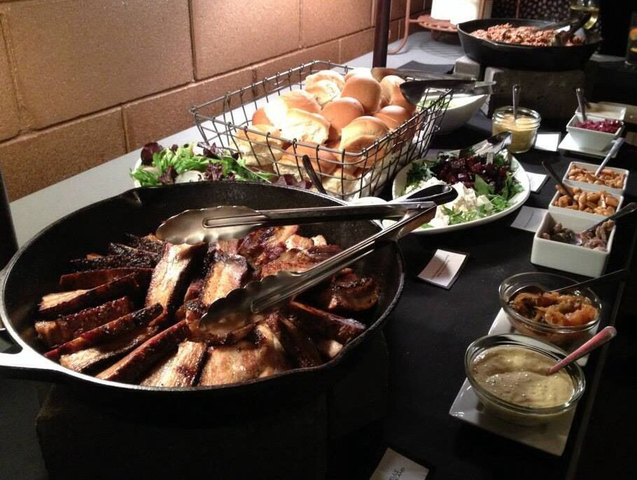 Cast Iron Buffet Example Our Food Food Catering Buffet