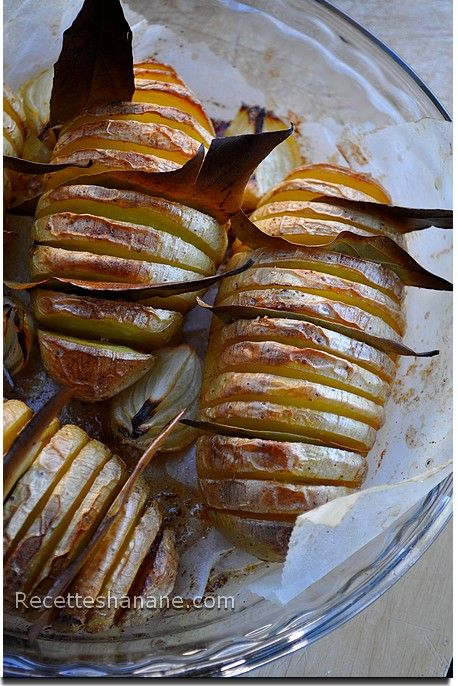 Une id e tr s simple pour accompagner un r ti de b uf poulet ou grillades ces pommes de - Cuisiner un roti de boeuf au four ...